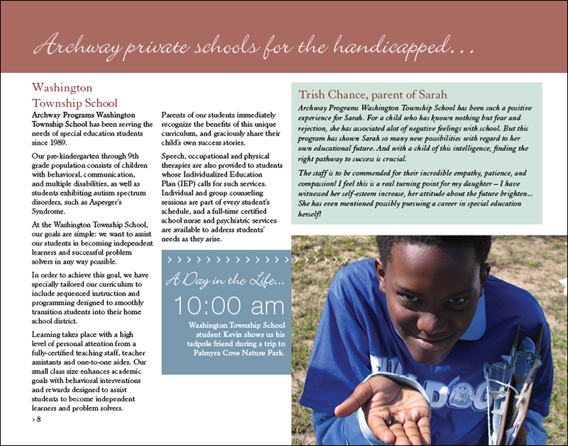 Archway Programs annual report page 8