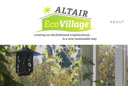 Altair EcoVillage Website