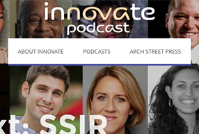 Innovate Podcast Website