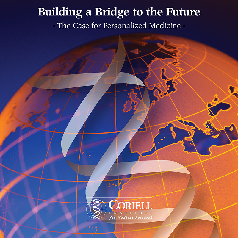 Coriell Institute for Medical Research collateral brochure cover