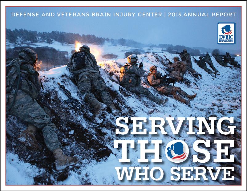 Defense and Veterans Brain Injury Center 2013 annual report