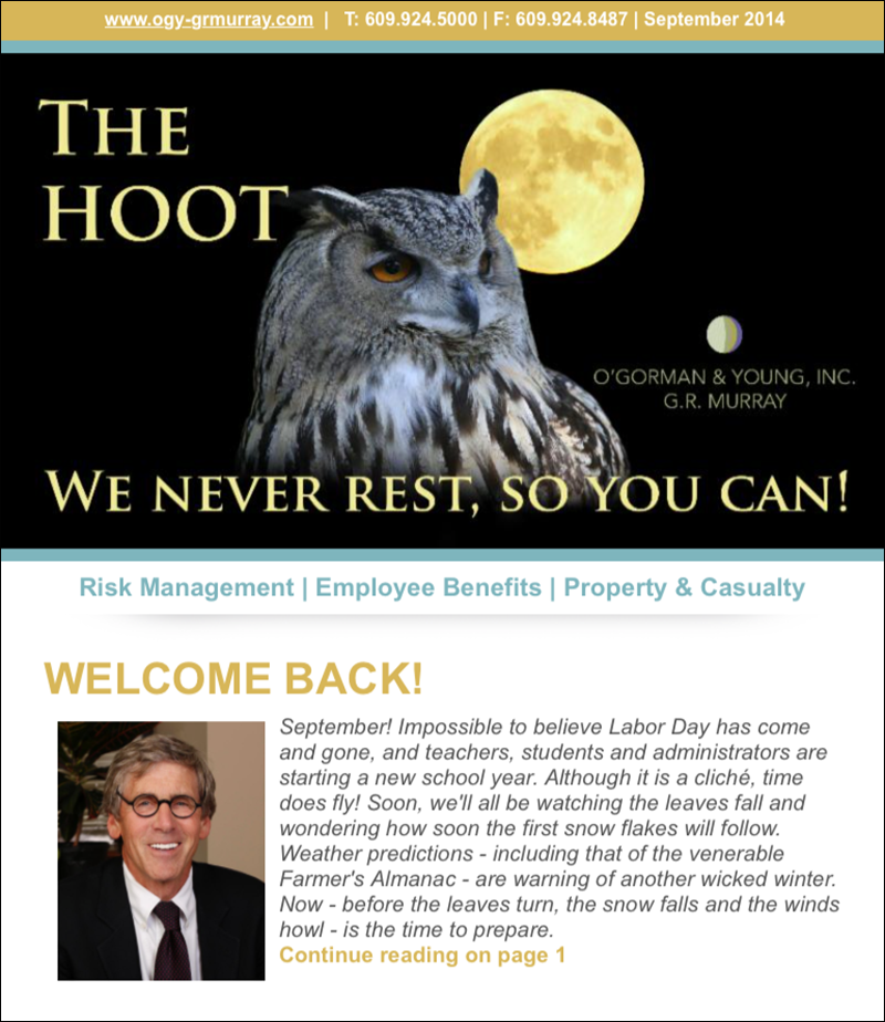 The HOOT, September 2014