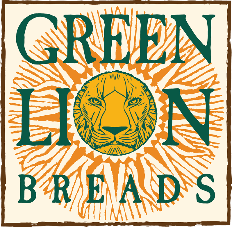 Green Lion Breads logo